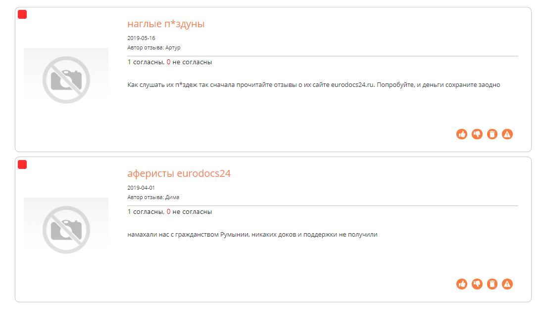 Отзывы о Еurodocs24 на corpindex.ru