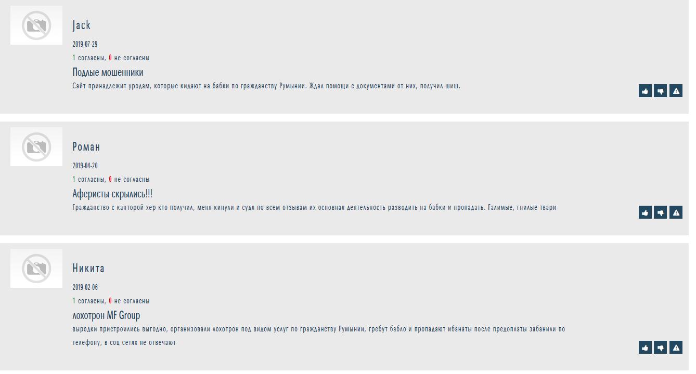 Отзывы о MF Group на otzyvy.org.ua