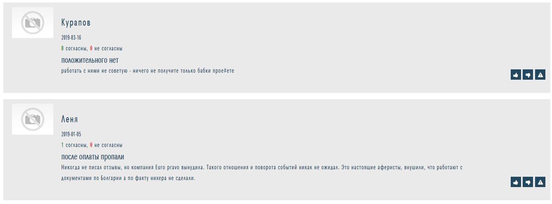 Отзыв о euro-pravo на otzyvy.org.ua